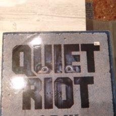 """Discos de vinilo: QUIET RIOT """" QR III """". EDICIÓN ESPAÑOLA. 1986.. Lote 246928195"""