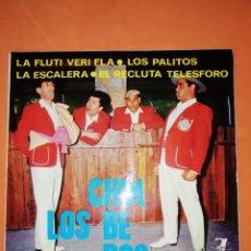 Discos de vinilo: LOS CHIMBEROS. LA FLUTI VERI FLA. ZAFIRO 1964. Lote 246945360