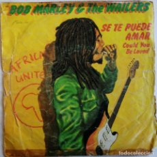 Dischi in vinile: BOB MARLEY & THE WAILERS-SE TE PUEDE AMAR, COULD YOU BE LOVED, ISLAND RECORDS A-101.968, A 101968. Lote 246946890