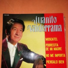 Discos de vinilo: JUANITO VALDERRAMA. MOSCATEL. BELTER 1969. Lote 246949045