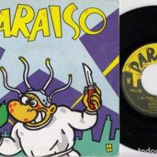 Disques de vinyle: PARAISO - MAKOKI - EP DE VINILO - 1ª EDICION NUEVOS MEDIOS 1983 - COMPLETO #. Lote 246949610