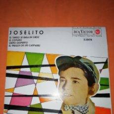 Discos de vinil: JOSELITO. EL TANGO SE BAILA EN CADIZ. RCA VICTOR. 1962. Lote 246952525