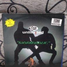 Discos de vinilo: 2 UNLIMITED - WORKAHOLIC. Lote 246953115