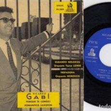 Discos de vinilo: RICARDO GABI, ORQUESTA TÍPICA LOMIR, ORQUESTA MOROCCO - EP DE VINILO EDICION ESPAÑOLA #. Lote 246961090
