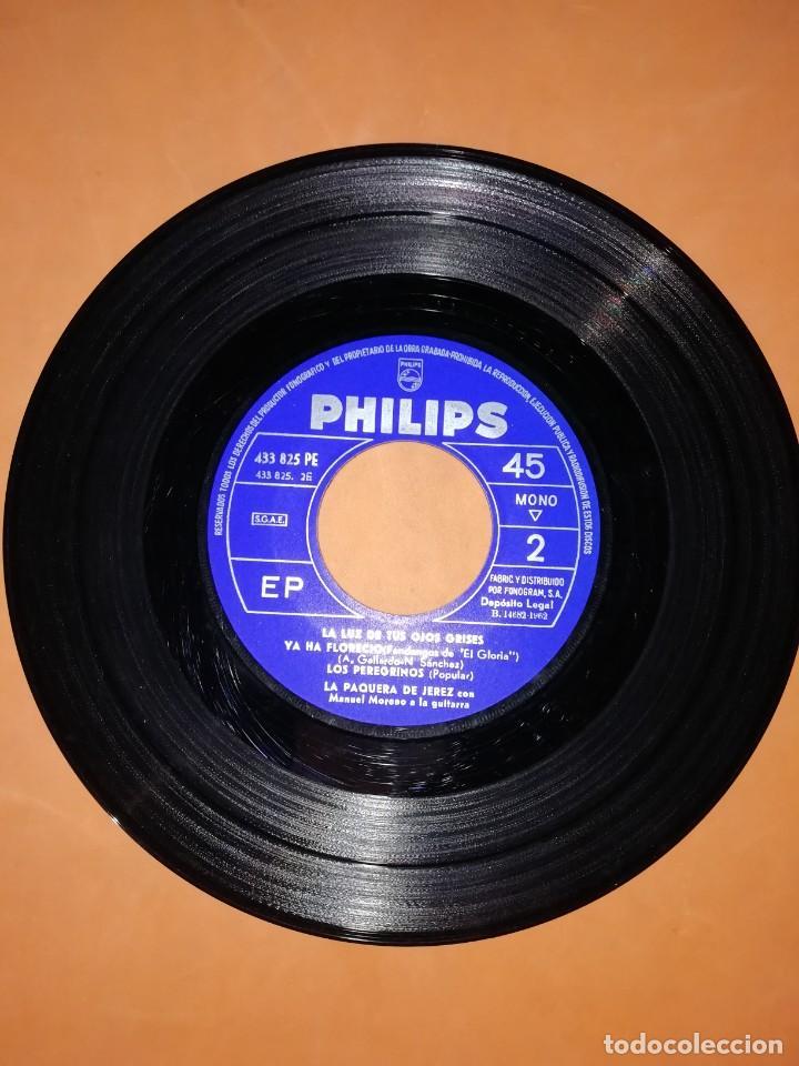 Discos de vinilo: LA PAQUERA. CON MANUEL MORENO A LA GUITARRA. PHILIPS. 1962 - Foto 5 - 246962400