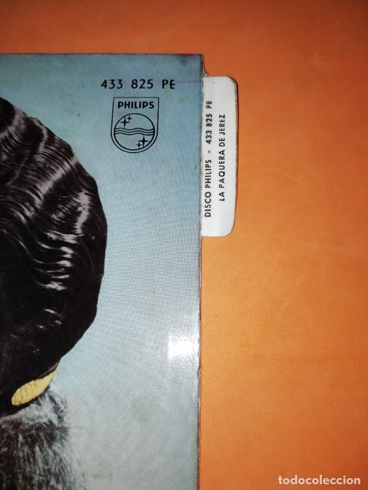 Discos de vinilo: LA PAQUERA. CON MANUEL MORENO A LA GUITARRA. PHILIPS. 1962 - Foto 2 - 246962400