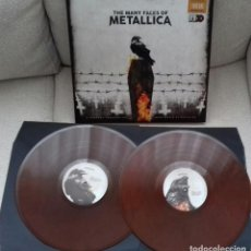 Discos de vinilo: METALLICA THE MANY FACES OF.... LP IRON MAIDEN SAXON DIO MEGADETH DORO TESTAMENT. Lote 246985680