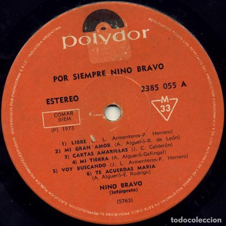 Discos de vinilo: LP argentino y recopilatorio de Nino Bravo año 1973 - Foto 3 - 228063940