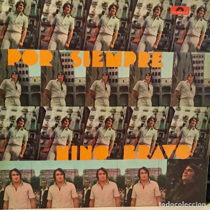 LP ARGENTINO Y RECOPILATORIO DE NINO BRAVO AÑO 1973 (Música - Discos - LP Vinilo - Solistas Españoles de los 70 a la actualidad)