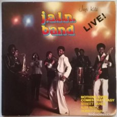 Discos de vinilo: J.A.L.N. BAND. LIVE: NOTHING EVER COMES THAT EASY/ HONKY TONK/ STREET DANCE/ NJIA WALK. MAGNET 1977. Lote 247009665