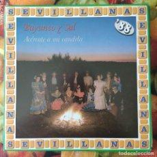 Discos de vinilo: LIQUIDACION LP EN PERFECTO ESTADO_BAYUNCO Y SAL_ACERCATE A MI CANDELA. Lote 247014260