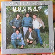 Discos de vinilo: LIQUIDACION LP EN PERFECTO ESTADO_BRUMAS_MISTERIOS DEL ROCIO. Lote 247014340