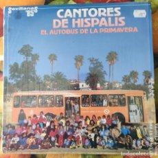 Discos de vinilo: LIQUIDACION LP EN PERFECTO ESTADO_CANTORES DE HISPALIS_EL AUTOBUS DE LA PRIMAVERA. Lote 247014420