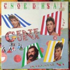 Discos de vinilo: LIQUIDACION LP EN PERFECTO ESTADO_CNOEDHSAI_GENTE GUENA. Lote 247014510