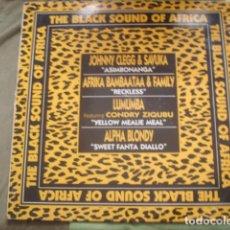 Discos de vinilo: THE BLACK SOUND OF AFRICA. Lote 247041580