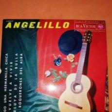 Discos de vinilo: ANGELILLO. TENGO UNA HERMANILLA CHICA. RCA VICTOR. 1963.. Lote 247049570