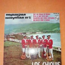 Discos de vinilo: ESTAMPAS NORTEÑAS Nº 1. LOS CHIQUIS. PHILIPS 1965. Lote 247072355