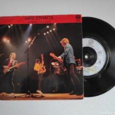 Disques de vinyle: DIRE STRAITS, TUNNEL OF LOVE. UK. SINGLE VINILO 45RPM. Lote 247075980