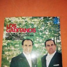 Discos de vinilo: LOS GADITANOS. LOS DUROS ANTIGUOS. HISPAVOX 1965. Lote 247080235