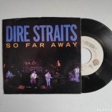 Disques de vinyle: DIRE STRAITS, SO FAR AWAY. USA, ESTADOS UNIDOS. SINGLE VINILO. Lote 247081360
