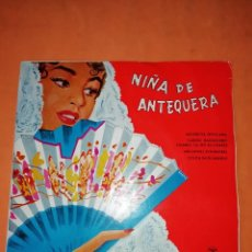Discos de vinilo: NIÑA DE ANTEQUERA. MUJERCITA SEVILLANA. COLUMBIA 1959. Lote 247086780