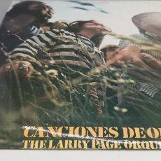 Discos de vinilo: THE LARRY PAGE ORQUESTA. CANCIONES DE ORO. LP ESPAÑA. Lote 247104375