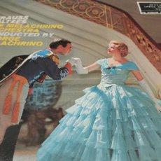 Discos de vinilo: STRAUSS WALTZES**THE MELACHRINO ORQUESTRA***RCA. Lote 247105275