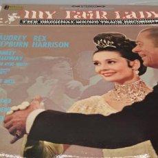Discos de vinilo: MY FAIR LADY (BANDA SONORA). LP. PORTADA DOBLE. SELLO CBS. EDITADO EN ESPAÑA.. Lote 247108435
