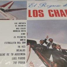 """Discos de vinilo: LOS CHAMAS """"EL REGRESO DE LOS CHAMAS"""" EDICION PERUANA 1970.DISCOS SONO RADIO.. Lote 247111715"""