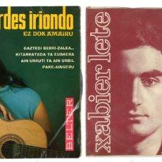 Dischi in vinile: XABIER LETE. MARIA LOURDES IRIONDO. EZ DOK AMAIRU. Lote 247127430
