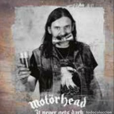Discos de vinil: MOTORHEAD -IT NEVER GETS DARK -2 LP-. Lote 247158500