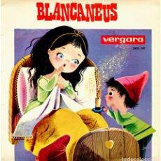 Discos de vinilo: JOSEP Mª. SANTOS, ARTUR MAS - BLANCANEUS - EP SPAIN 1965 - VERGARA 242-HC - CONCHA MATAMOROS. Lote 247186005