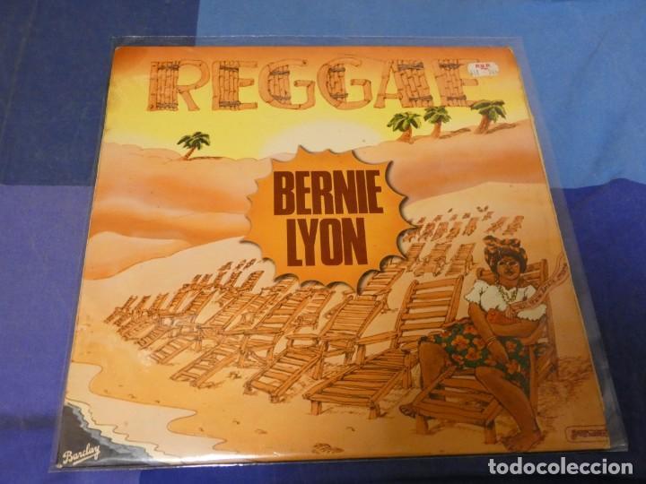 EXPRO LP REGGAE BERNIE LYON ESPAÑA 70S MUCHO USO NO RAYONES MORTALES (Música - Discos - LP Vinilo - Jazz, Jazz-Rock, Blues y R&B)