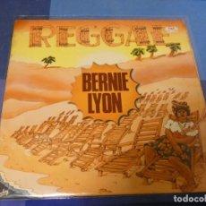 Discos de vinilo: EXPRO LP REGGAE BERNIE LYON ESPAÑA 70S MUCHO USO NO RAYONES MORTALES. Lote 247186700