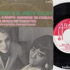 Discos de vinilo: BILLY VERA & JUDY CLAY - COUNTRY GIRL CITY MAN - SINGLE DE VINILO EDICION ESPAÑOLA #. Lote 247187740