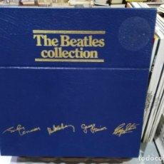 Discos de vinilo: THE BEATLES COLLECTION - CAJA, CONTIENE 13 LPS. - DISCOGRAFÍA THE BEATLES. Lote 247204280