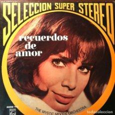 Discos de vinilo: LP ARGENTINO DE THE MYSTIC MOODS ORCHESTRA AÑO 1971. Lote 247205150