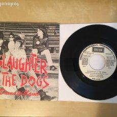 "Discos de vinilo: SLAUGHTER & THE DOGS - DAME TO BLAME - SINGLE PROMO RADIO 7"" - 1978. Lote 247209055"