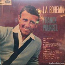 Discos de vinilo: LP ARGENTINO DE FRANCK POURCEL Y SU GRAN ORQUESTA AÑO 1966. Lote 247209945