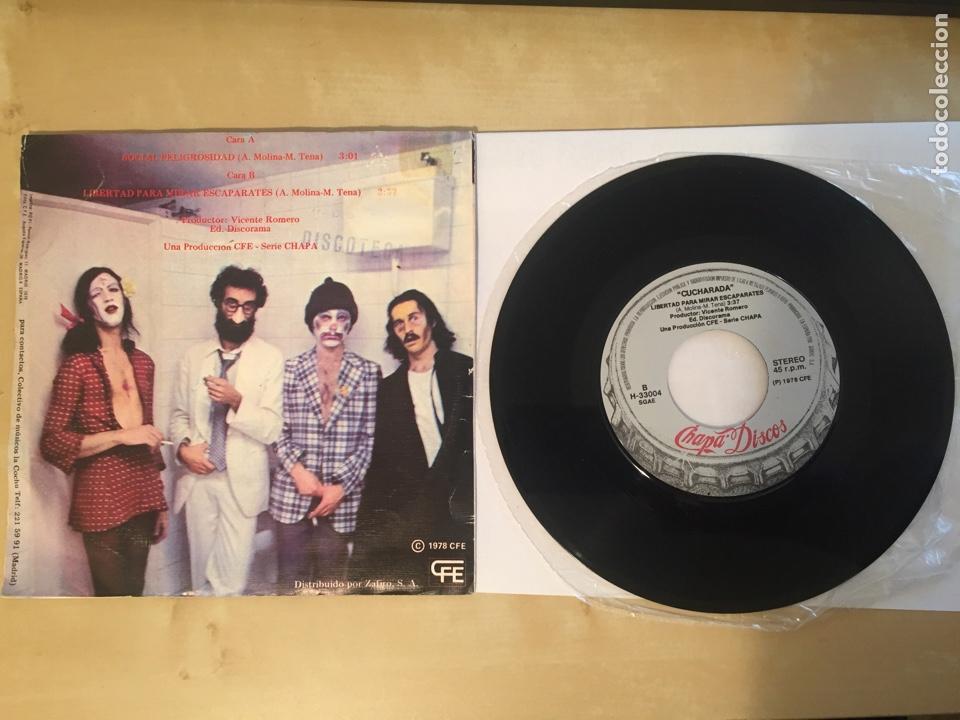 "Discos de vinilo: Cucharada - Social Peligrosa - SINGLE RADIO 7"" - 1978 CHAPA DISCOS - Foto 4 - 247213600"