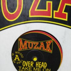 Discos de vinilo: OVER HEAD - TAKE ME ON. Lote 247218220