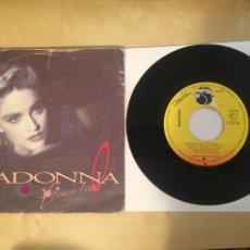"Discos de vinilo: MADONNA - LIVE TO TELL - SINGLE PROMO RADIO 7"" - 1986 ESPAÑA. Lote 247218960"