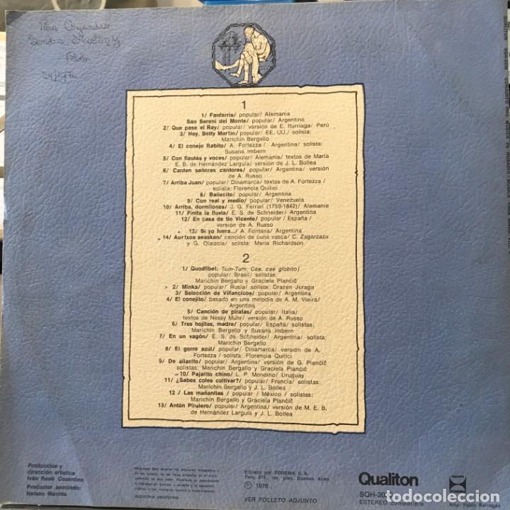 Discos de vinilo: LP argentino del Conjunto Pro Música de Rosario año 1976 - Foto 2 - 247225320