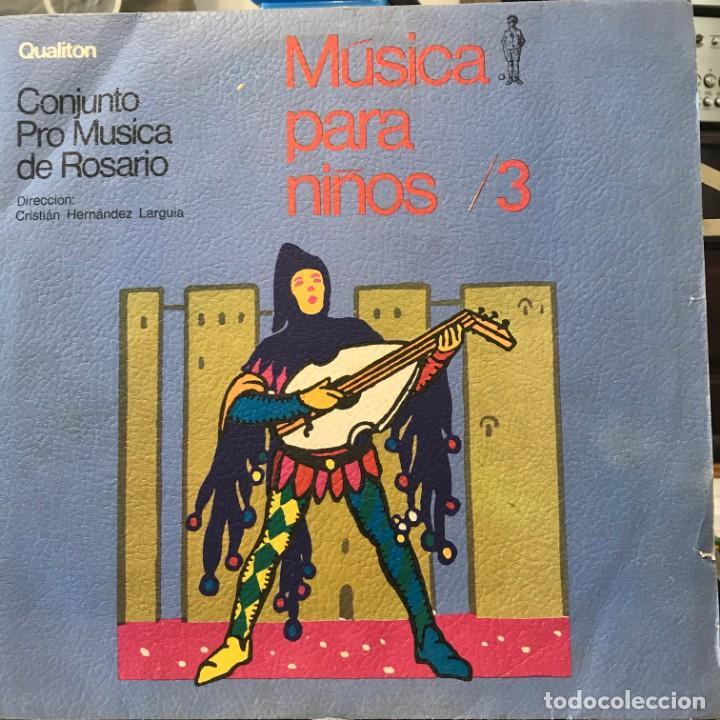 LP ARGENTINO DEL CONJUNTO PRO MÚSICA DE ROSARIO AÑO 1976 (Música - Discos - LPs Vinilo - Música Infantil)
