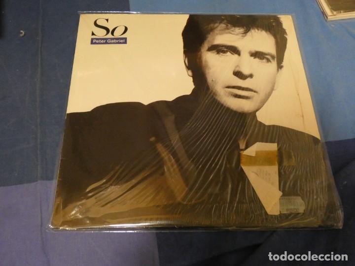 EXPRO LP PETER GABRIEL SO 1986 ESTADO GENERAL IMPECABLE (Música - Discos - LP Vinilo - Jazz, Jazz-Rock, Blues y R&B)