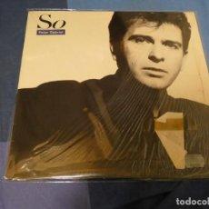 Discos de vinilo: EXPRO LP PETER GABRIEL SO 1986 ESTADO GENERAL IMPECABLE. Lote 247231865