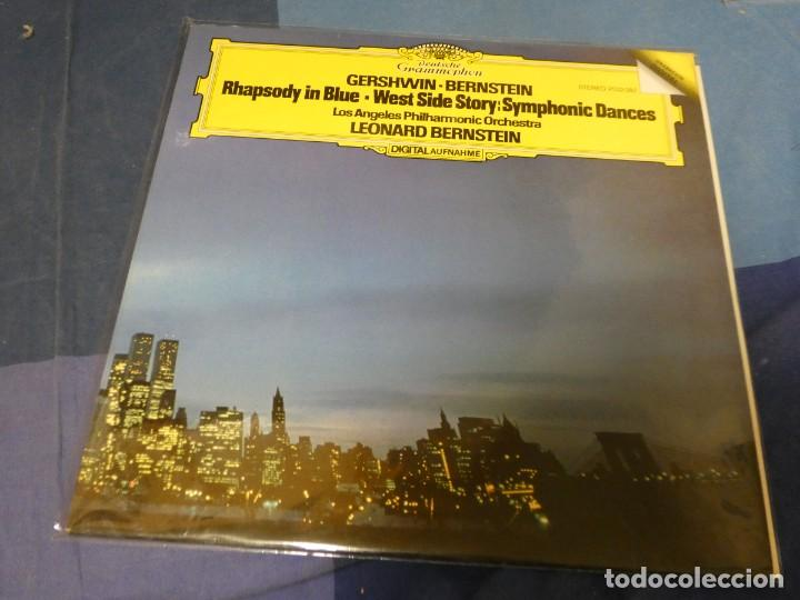 EXPRO LP MUY BUEN ESTADO GESHWIND AND BERSTEIN RAPSODY IN BLUE LEONARD BERNSTEIN MUY BUEN ESTADO (Música - Discos - LP Vinilo - Jazz, Jazz-Rock, Blues y R&B)