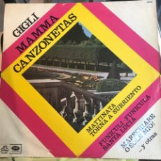Discos de vinilo: LP ARGENTINO Y RECOPILATORIO DE BENIAMINO GIGLI AÑO 1967. Lote 247233750