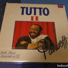 Discos de vinilo: EXPRO DOBLE LP TUTTO PAVAROTTI II MUY BUEN ESTADO 1991. Lote 247233905