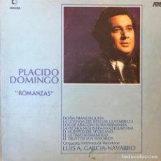 Discos de vinilo: LP ARGENTINO DE PLÁCIDO DOMINGO AÑO 1975. Lote 247235360